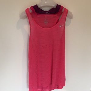 Nike workout tank top lot of 3